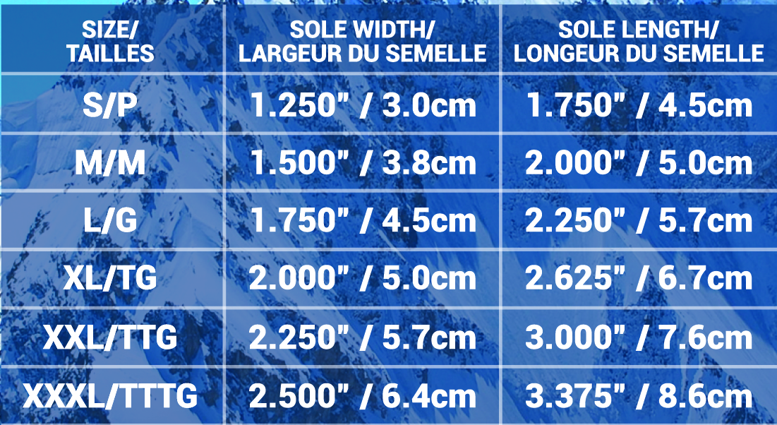 NF Boots size chart-02